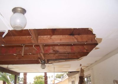 Roof Leak - Before