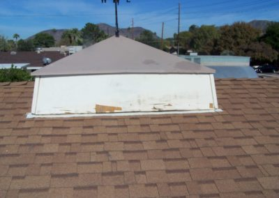 Roof Dormer Repair - Before