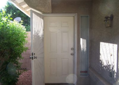 Front Door Paint Job - Before
