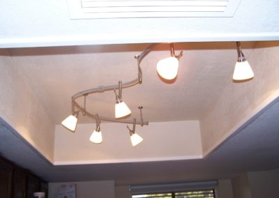 New Light Fixture Install - After