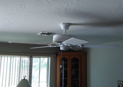 Ceiling Fan Install - After
