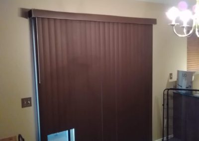 New Vertical Blinds - After