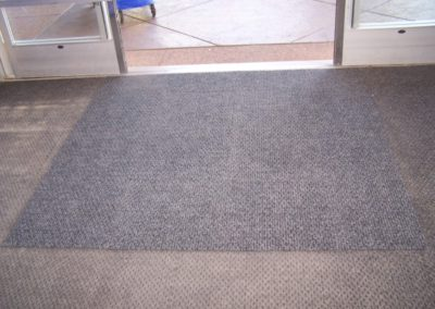 Carpet for Commercial Entrance - After