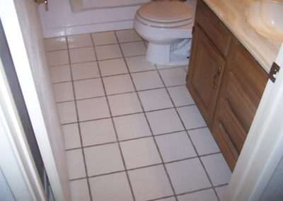 New Tile Install - After